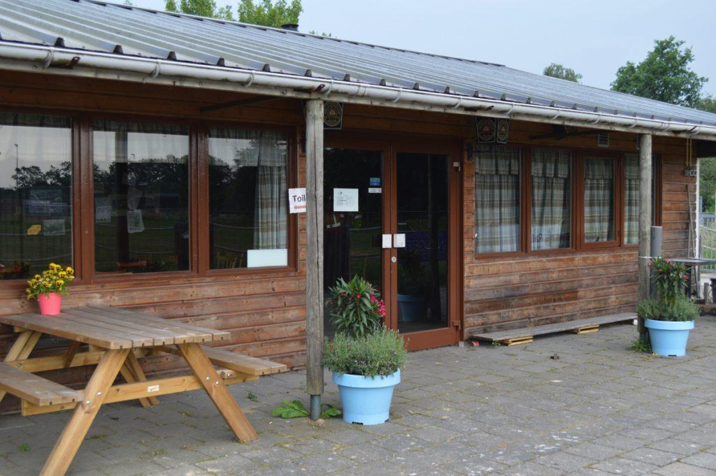 Paardensportvereniging De Trouwe Kameraden Chaam kantine clubhuis accommodatie